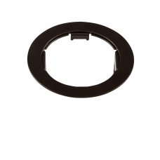 214617 Рамка DOMINO ROUND МR16 черный (в комплекте)